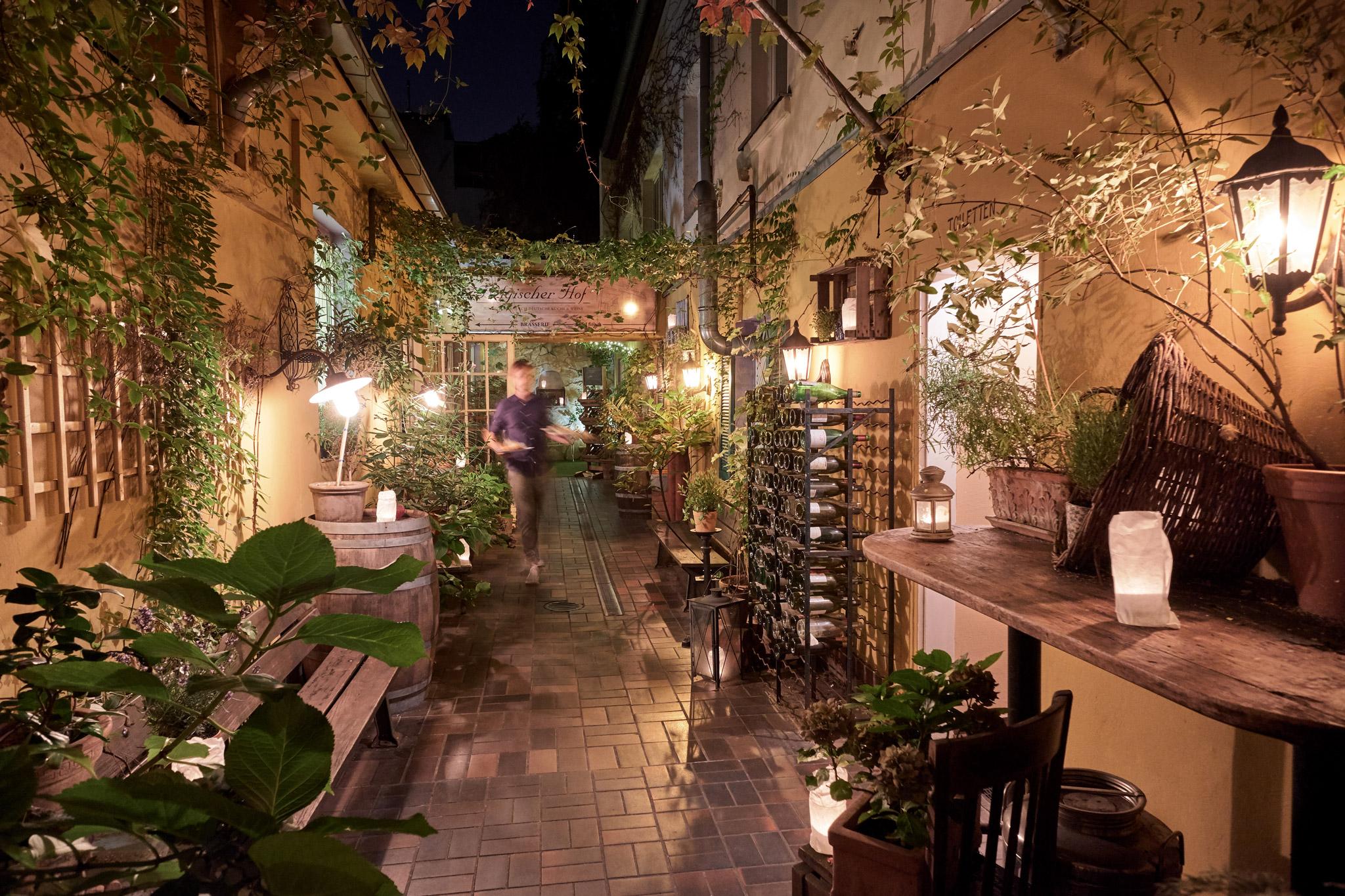 restaurant belgischer hof. Black Bedroom Furniture Sets. Home Design Ideas